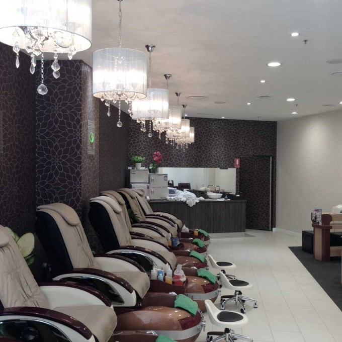 Luxury Spa & Nails | Kawana Shoppingworld | Retail designer|cafe ...