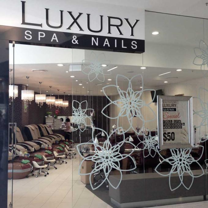 Luxury Spa & Nails   Kawana Shoppingworld   Retail designer cafe ...