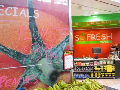 So Fresh Markets shop design