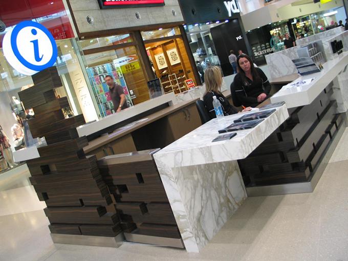 robina town centre concierge desk - Concierge Desk Design