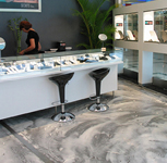 Testimonial retail shop design