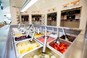 Fusion Frozen Yogurt fitted out by S & S Shopfitting Concepts