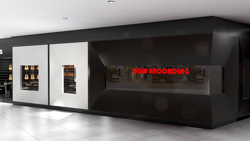 Music shop retail designer Brisbane