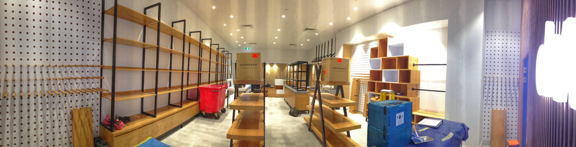 shop design and fitout