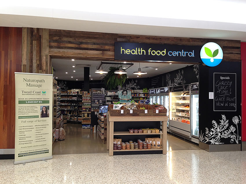 Health Food Shop Design