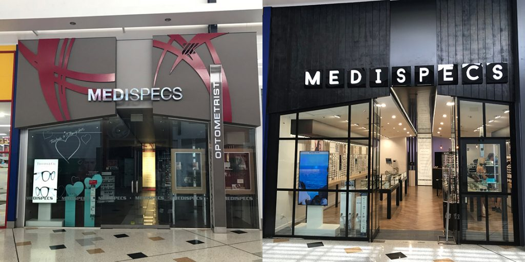 5c6086837d Before   After Retail Design Facelift – Medispecs Robina