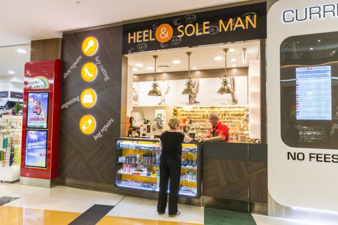 Heel & Sole Man   Macarthur Central Brisbane