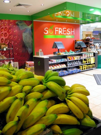 So Fresh Markets shop design