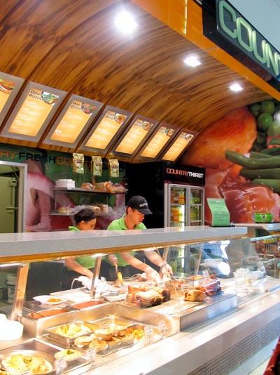 Country Fresh Kitchen shop design