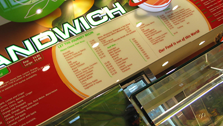 Sandwich Planet Robina Town Centre