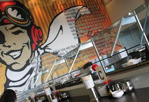 Ace Wasabi Sushi Chevron Island   Sushi restaurant design Brisbane and Gold Coast