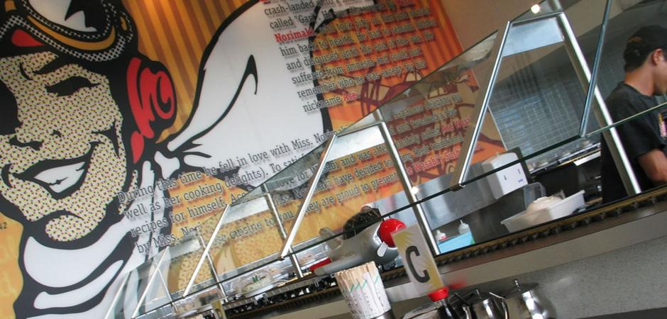 Ace Wasabi Sushi Plane | Chevron Island | Cuschieri Design | Retail shop interior designers
