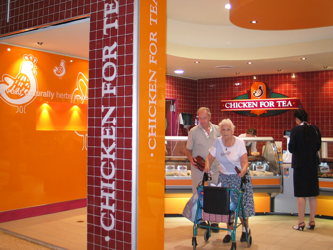 Chicken For Tea Caloundra | Food and retail design Gold Coast and Brisbane