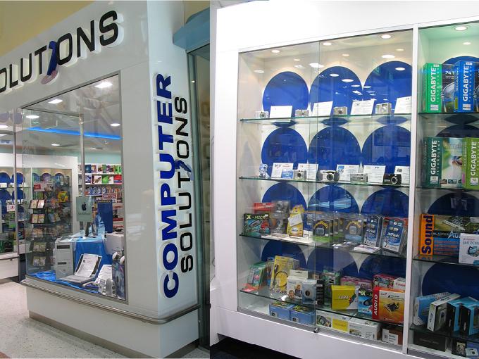 Computer Solutions Runaway Bay   Retail shop interior designers