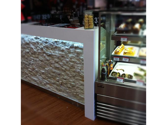 Crema Espresso Helensvale   Retail shop cafe restaurant interior designer