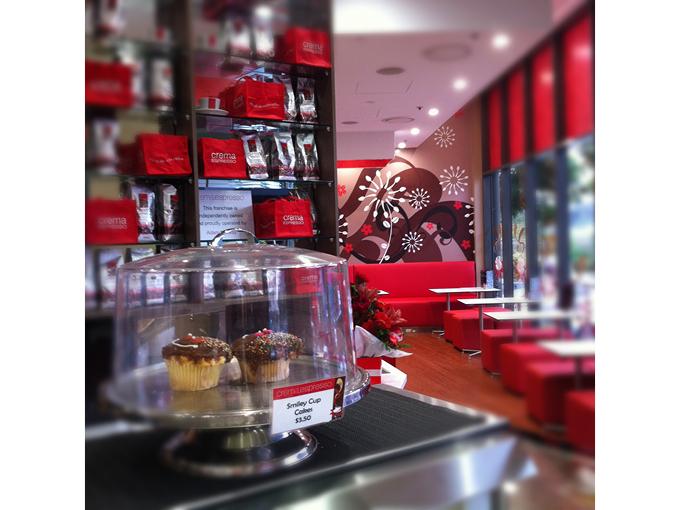Crema Espresso Helensvale | Retail shop cafe restaurant interior designer