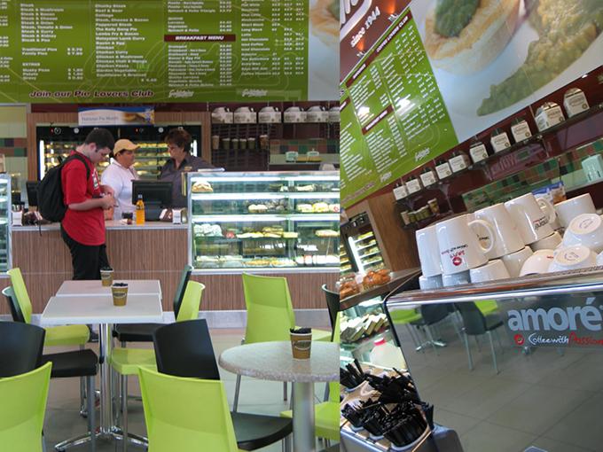 Goldsteins Pies Robina   Pie shop, bakery, cafe retail design Gold Coast and Brisbane
