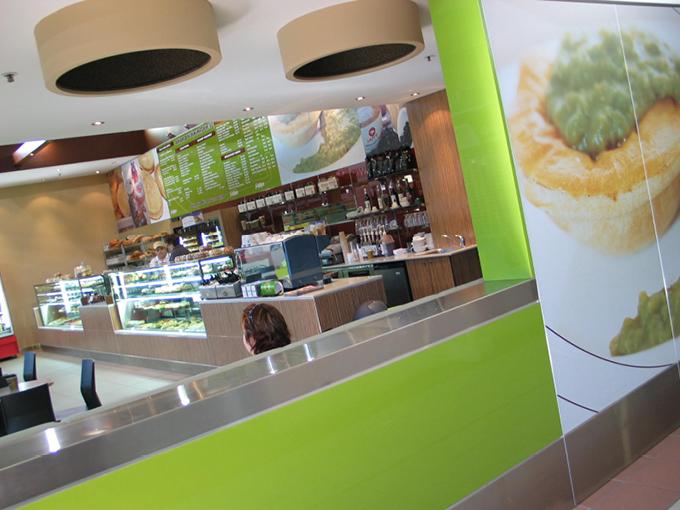 Goldsteins Pies Robina | Pie shop, bakery, cafe retail design Gold Coast and Brisbane