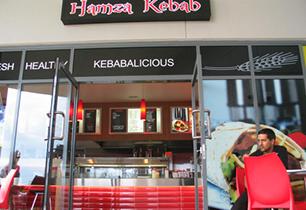 Hamza Kebab | Oxenford | Retail food shop interior designers