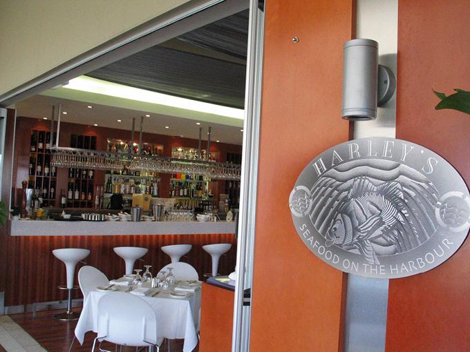 Harley's Seafood Hope Island | Restaurant design Gold Coast and Brisbane