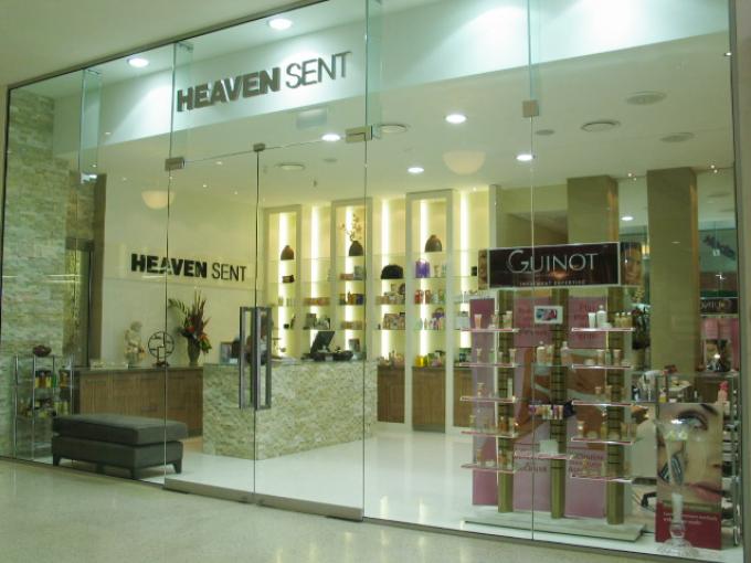 Heaven Sent Elanora | Beauty Salon | The Pines Shopping Centre | Retail interior designers