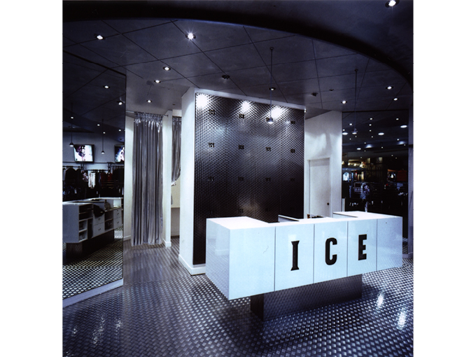 Ice Clothing Sydney | retail shop interior design