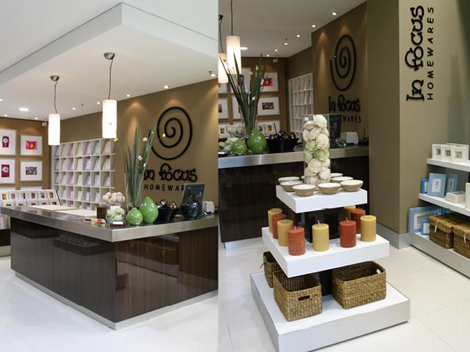 In Focus Robina   Homeware Store design Gold Coast and Brisbane