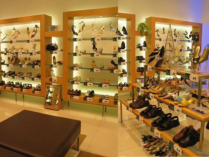 L & J Shoe Gallery | Garden City | Shop interior designer