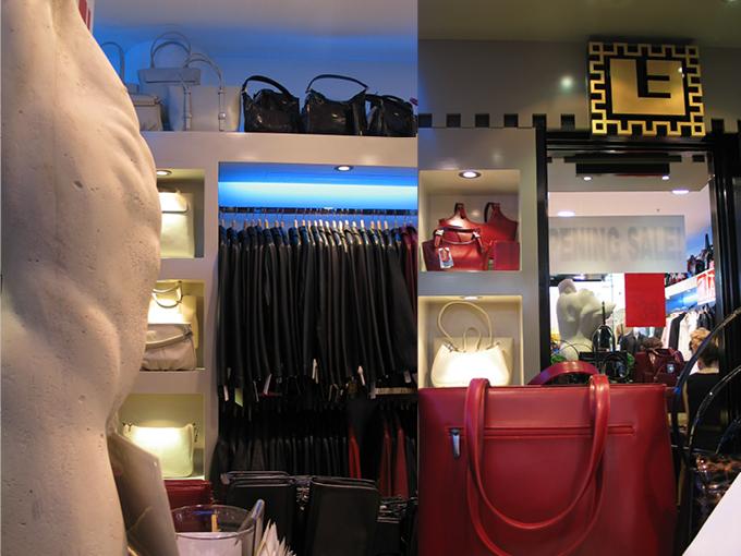 Leather Emporium   Maroochydore   Retail shop interior designers Sunshine Coast and Brisbane