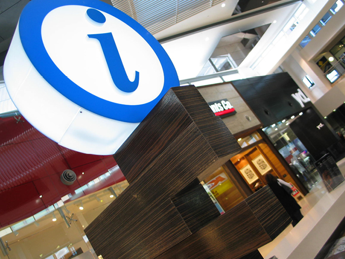 Robina Town Centre Concierge Desk | Retail Interior Designers