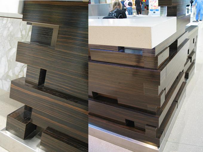 Robina Town Centre Concierge Desk   Retail Interior Designers
