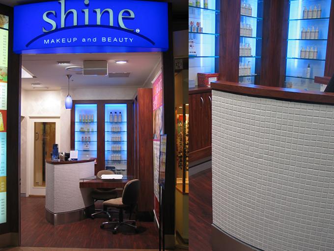 Shine Southport Beauty & Makeup   Retail Shop Interior Designer