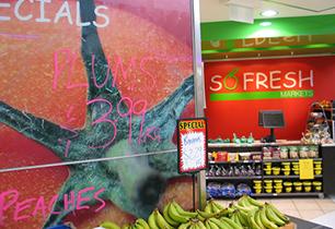 So Fresh Markets Benowa   Green grocer interior design Brisbane and Gold Coast