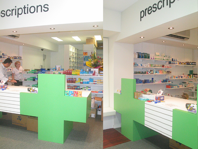 Soul Pattinson Surfers Paradise | Pharmacy Interior Designer