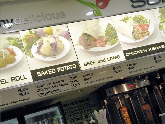 Supreme Kebabs Burleigh retail food design Gold Coast and Brisbane