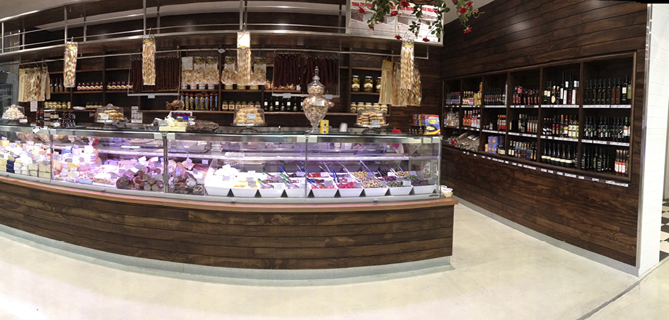 Ambarella Fresh Fine Foods designed to be a farmer's market with the convenience of a supermarket