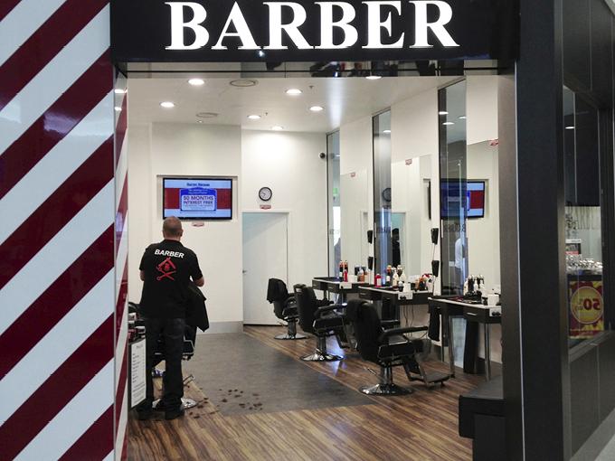 Busy Barber | Burleigh