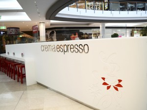 Crema Espresso Westfield Carindale latest shop design by David Cuschieri