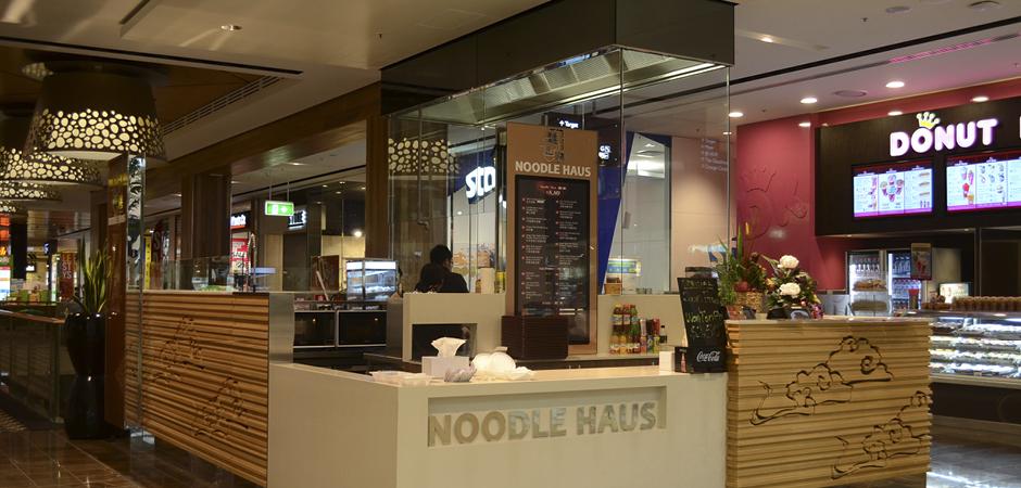 Noodle Haus Westfield Carindale - shop design by David Cuschieri