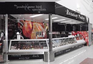 Runaway Poultry shop design