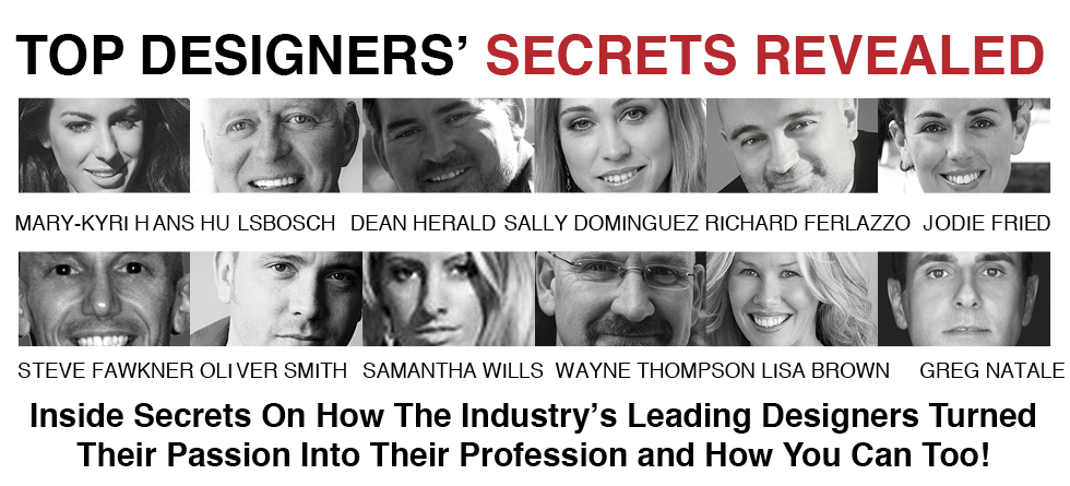Top Designers' Secrets Revealed by David Cuschieri