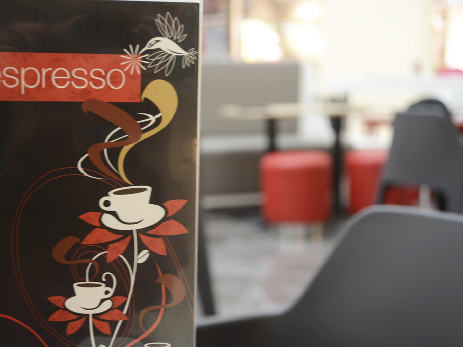 Crema Espresso at Westfield Carindale is the latest shop design from David Cuschieri