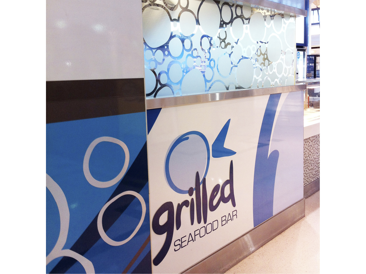 Grilled Seafood - latest design by Gold Coast retail designers Cuschieri Design