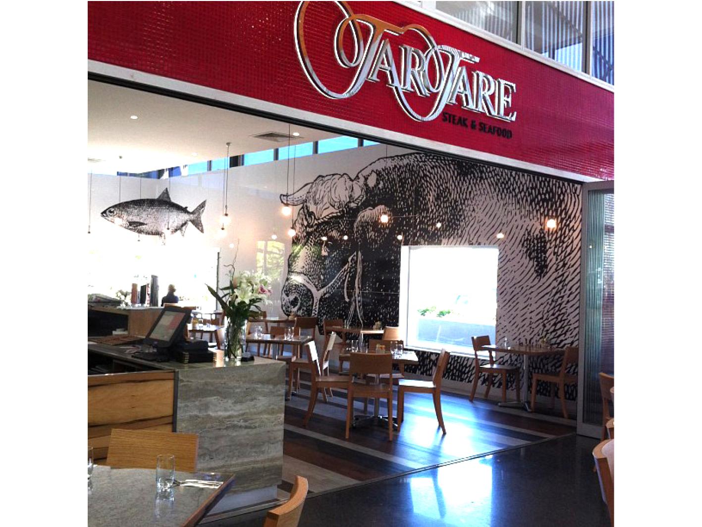 Tartare Steak and Seafood Restaurant Gold Coast Design