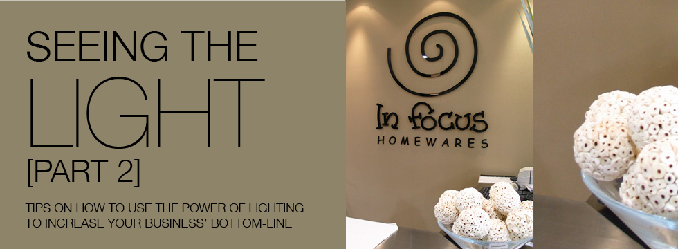 Utilising the power of good lighting to increase your retail profits
