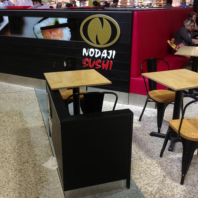 Nodaji Sushi designed by retail designer David Cuschieri