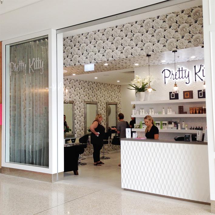Pretty Kitty Beautician Shop Design Brisbane