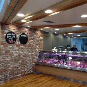 Gold Coast latest retail butcher design