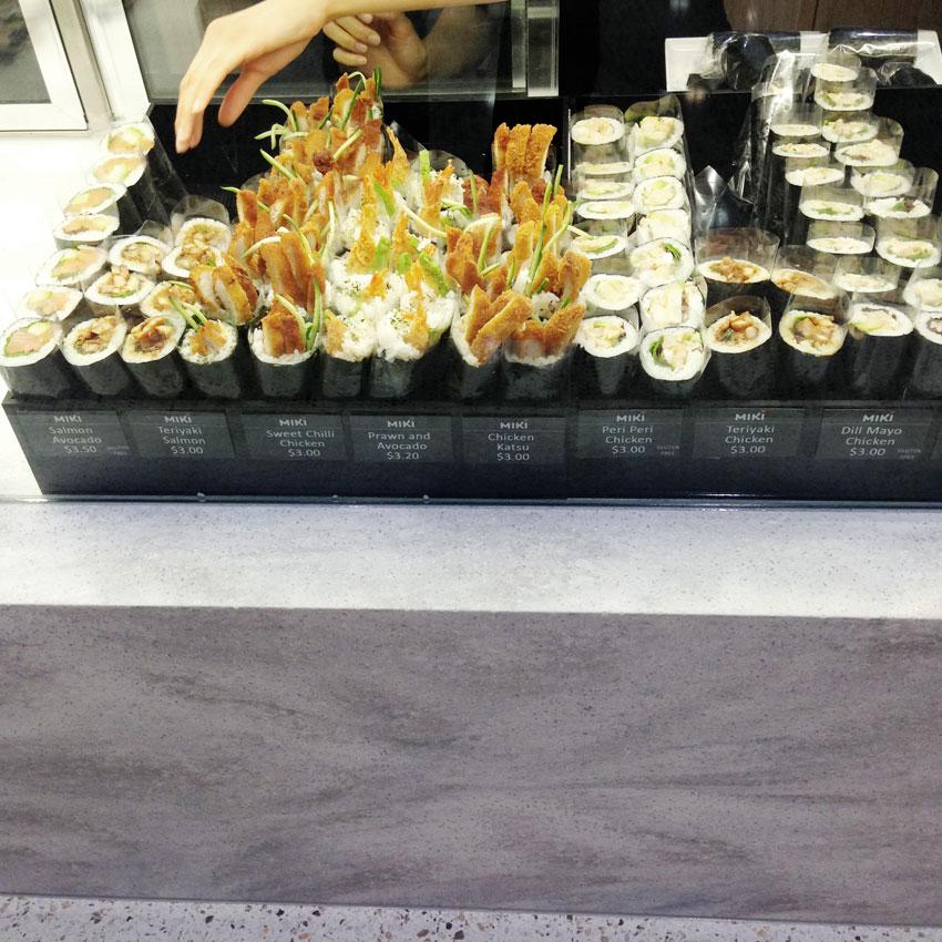 Retail food design