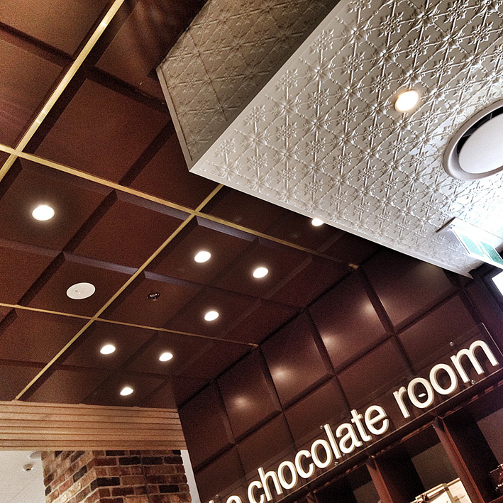 The Chocolate Room retail design